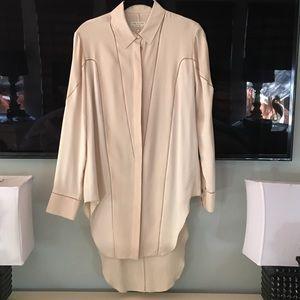 rag & bone Tops - Rag & Bone silk tunic blouse