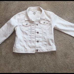 jordache Other - White girls jean jacket never worn