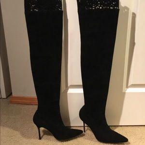 7ca5ecfbcf2 Manolo Blahnik Over the Knee Boots for Women