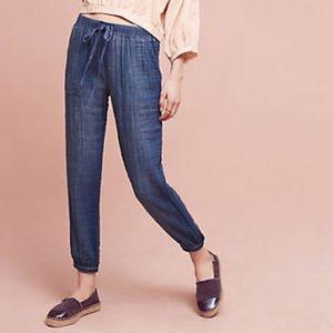 Anthropologie Pants - Cloth & Stone Denim Jogger Pants