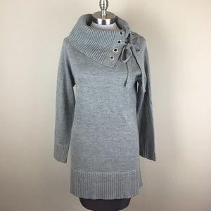 Venue Sweaters - NWOT Long Sleeve Grey Sweater Dress