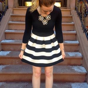 sheinside Dresses & Skirts - sheinside black & white dress - size small
