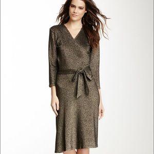 Leota Dresses & Skirts - Leota sparkle wrap dress