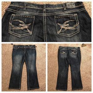 "Silver Jeans Denim - NWT Silver Jeans ""Berkley"" Plus Size 24"