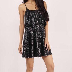 Tobi Dresses & Skirts - Gorgeous black sequin dress
