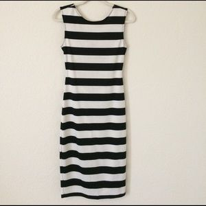 Ruby Rox Dresses & Skirts - Black and white midi dress Offers accepted!!