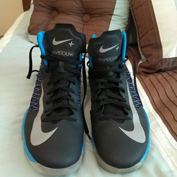 f3c853adcf7 Nike lunar hyperdunk 2012 black purple men size 14.  M 58e17a1e680278eefe02180c