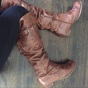 Carlos Santana Shoes - Carlos Santana Brown Boots