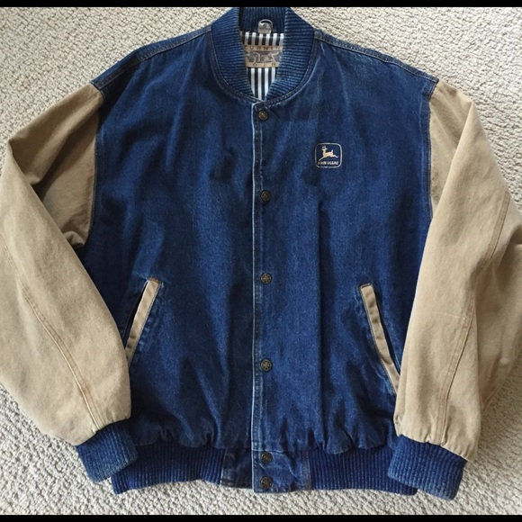 80% off Turning Point Other - Men's denim baseball jacket with ...