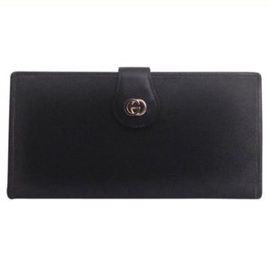 Gucci Handbags - Classic Vintage [Gucci] Canvas & Leather Wallet