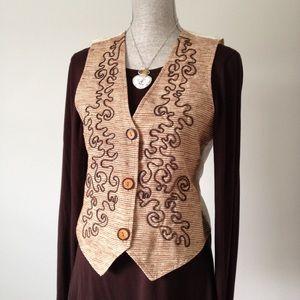 Petite Sophisticate Tops - Petite Sophisticate Vest