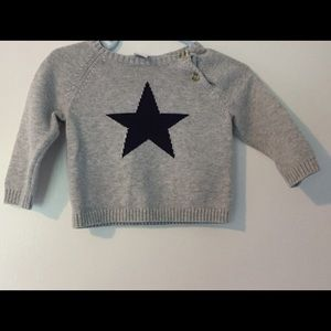 Nordstrom Baby Other - Nordstrom Baby Star Cotton Sweater - 9 Months