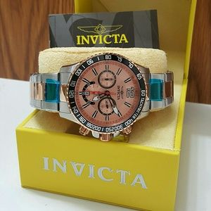 Invicta Other - Weekend sale,$800 Invicta Chronograph rose watch