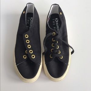 The Row for Superga Shoes - Superga x The Row Black Classic Sneakers