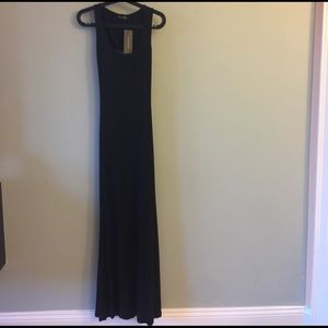 CHOISE Dresses & Skirts - Black maxi dress with open back.