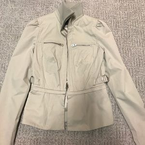 Armani exchange detachable cropped jacket- women