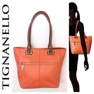 Tignanello Handbags - 🎉1 HR SALE🎉Tignanello Leather Tote