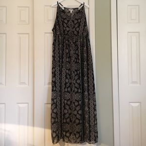 Liz Lange for Target Dresses & Skirts - Liz Lange Black &a Cream Maternity Maxi Dress XL