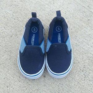 Osh Kosh Other - Osh Kosh Blue Canvas Shoes.
