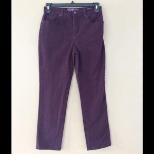 Gloria Vanderbilt Denim - Gloria Vanderbilt Amanda Jeans Light Purple Size 8