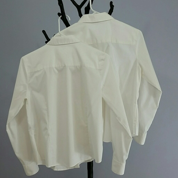 54 off foxcroft tops bundle of 2 wrinkle free button for Wrinkle free button down shirts
