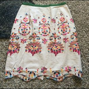 Corey Lynn Calter Majestic Medallions Skirt