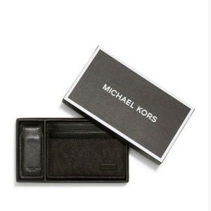 Michael Kors  Other - 💙HP💙Michael Kors money-clip & card case