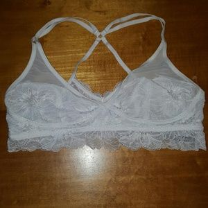aerie Other - White Lace Bralette