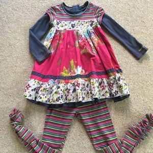 Catimini Other - Catamini smock dress and leggings