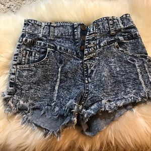 Necessary Clothing Pants - Jean high waisted shorts