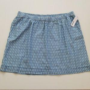Sonoma Dresses & Skirts - NWT Light and Flowy Denim Skirt