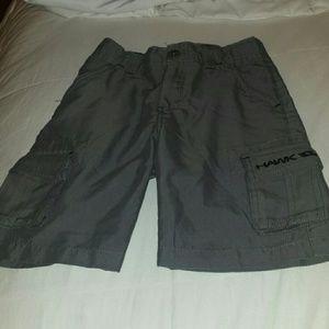 Tony Hawk  Other - Tony Hawk microfiber grey cargo shorts  Size 6