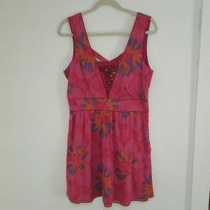 Free People Dresses & Skirts - NWT FP Pink Floral Dress