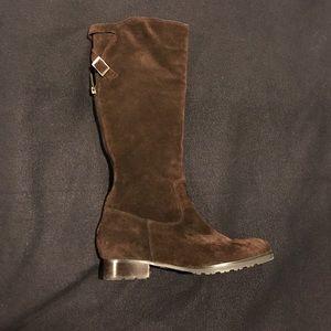 Calvin Klein Suede Knee High Boots