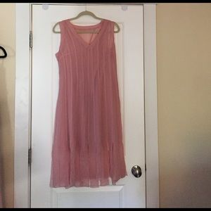 Ted Baker blush silk gown