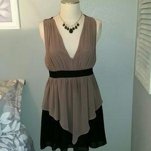 Greylin Dresses & Skirts - 2/$10 or 3/$16 Greylin Two Tone Dress