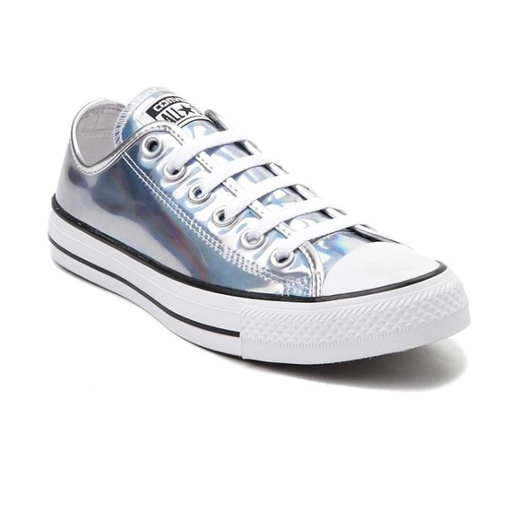 6158774602b40f Converse Chuck Taylor All Star Iridescent Silver