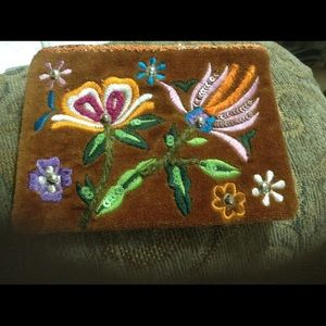 unbranded Handbags - Mini bag, beaded and embroidered.  Very Pretty.