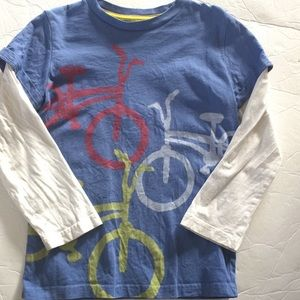 Mini Boden Other - Mini Boden bicycle shirt