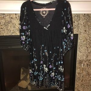 Free people cotton floral dress