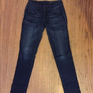 Dark denim jeans!