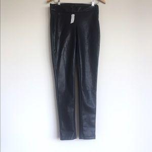 Ann Taylor faux leather pants - size 0