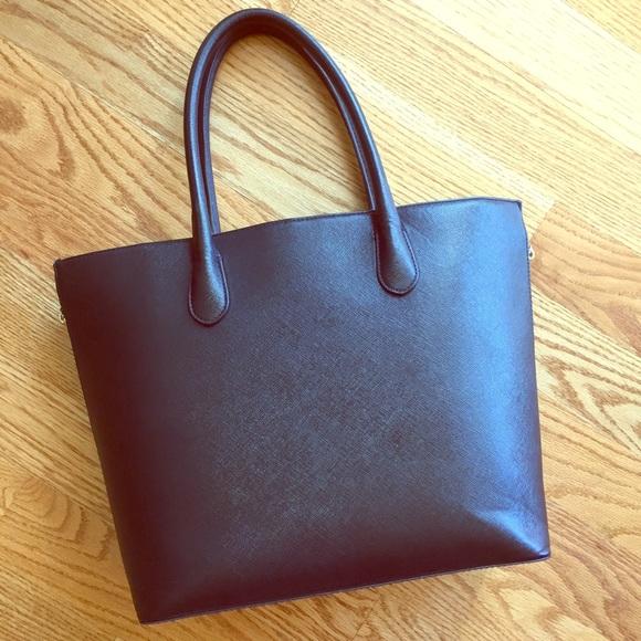 H M Bags   Hm Expandable Zip Tote   Poshmark 94412148f5