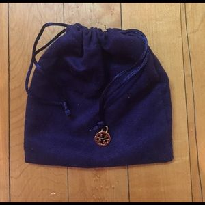 Tory Burch Handbags - Tory Burch Drawstring Jewelry Pouch