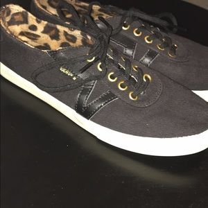 Vans Shoes - Black and Leopard VANS