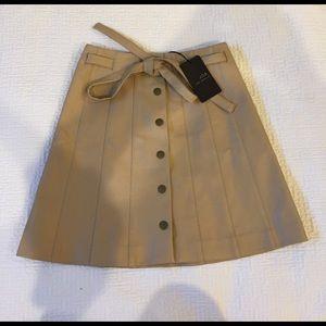 J.O.A Los Angeles leather skirt