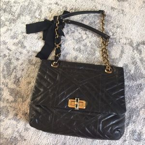 Lanvin Handbags - Lanvin leather quilted HAPPY😄Bag