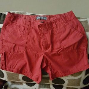 Eddie Bauer Red Shorts