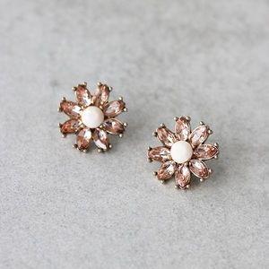 Flower Blush Earrings.