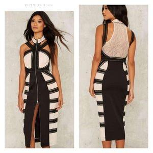 Nasty Gal Dresses & Skirts - Nasty gal Aldridge lace midi dress - xs